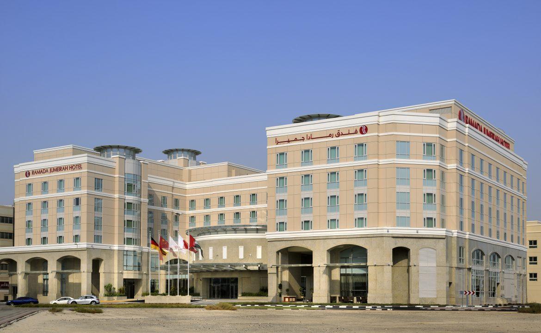 Front Side Dya time Ramada Jumeirah Hotel