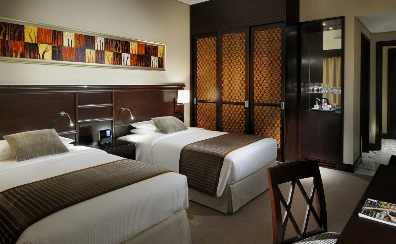 Twin Classic Room Ramada Jumeirah Hotel